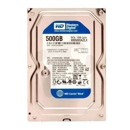 disco duro 500gb wd sata 3.5 7200rpm para pc y dvr nuevos