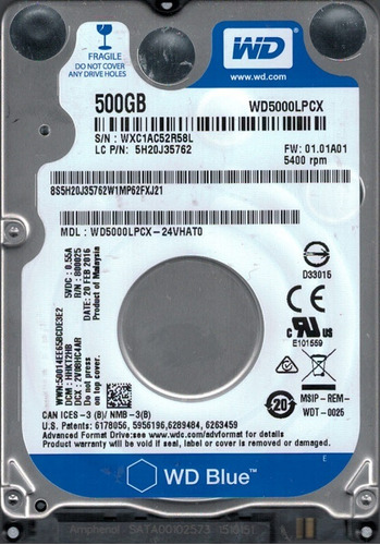 disco duro 500gb western digital