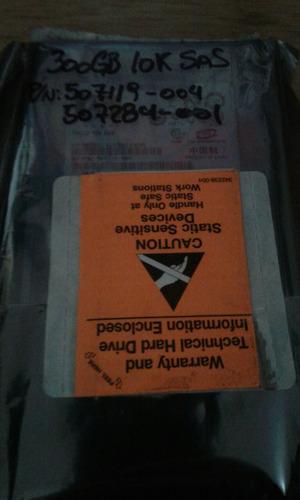 disco duro 507119-004 300gb 10k sas casi nuevo impeque !!