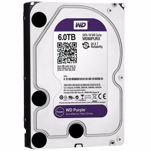 disco duro 6tb western digital purple 24-7 sata 6.0gbjs