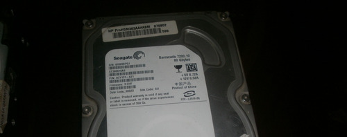 disco duro 80 gb  ide   seagate pc verificado