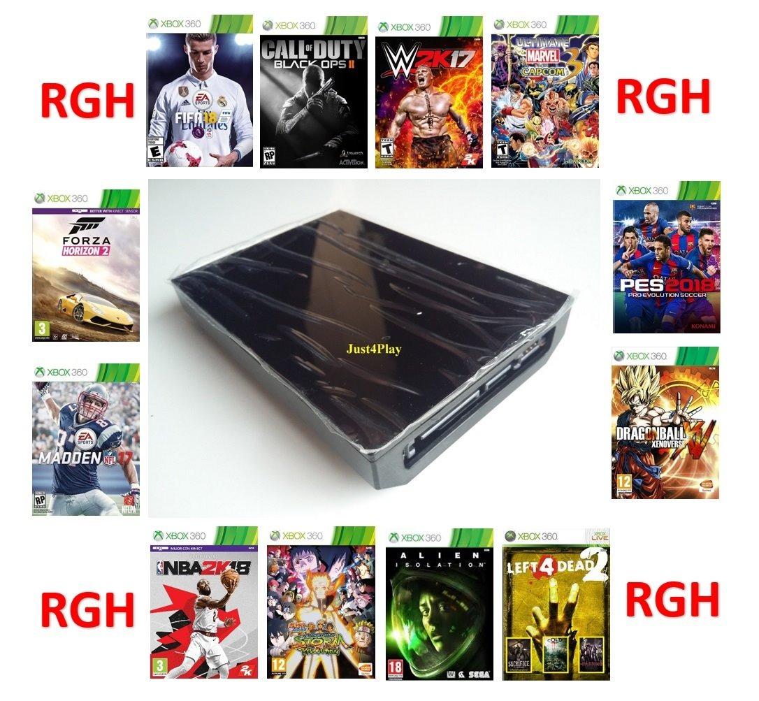 Disco Duro Con Juegos Para Xbox 360 Rgh 320gb 800 00 En Mercado