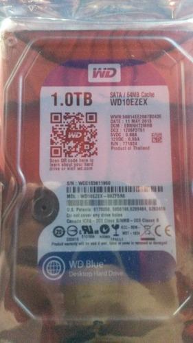 disco duro de 1tb sata 3.5 7200rpm seagate wd. pc y dvr