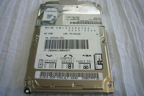 disco duro de 40g para laptop en perfecto estado
