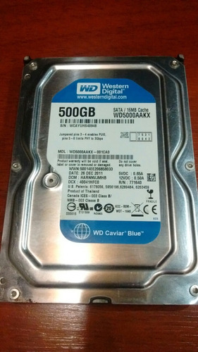 disco duro de 500gb sata