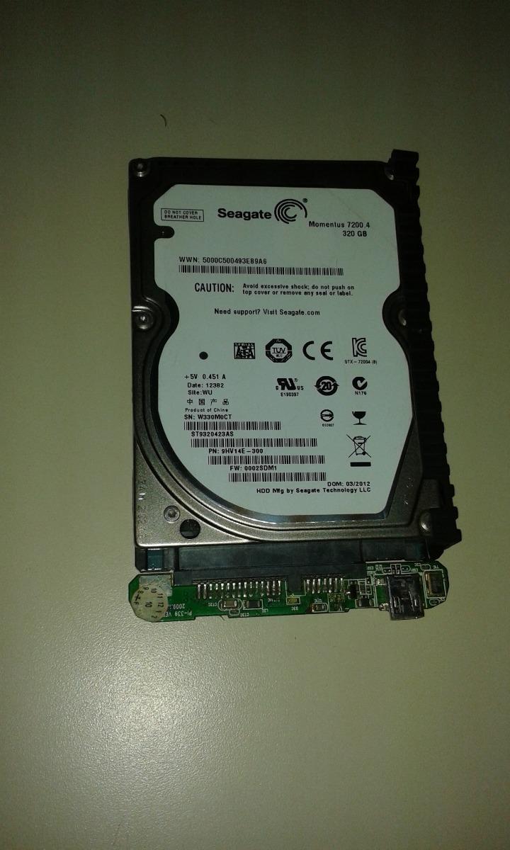 Disco Duro De Laptop Seagate 320gb Momentus 72004