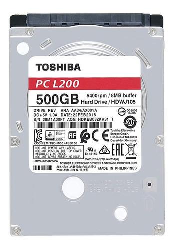 disco duro de laptops 2.5 500gb toshiba