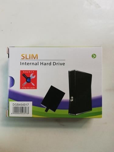 disco duro de xbox 360 slim  con 100 juegos para rgh