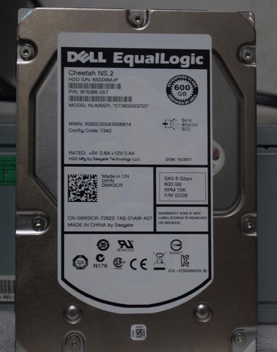 disco duro dell equallogic 600gb 10k sas 9fs066-057