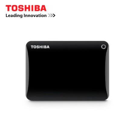 disco duro ext. toshiba 2tb canvio connect ii black 3.0
