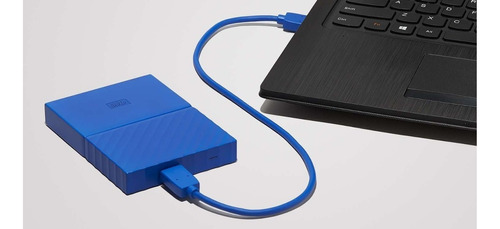 disco duro externo 1 tb wester digital my passport 3.0 azul