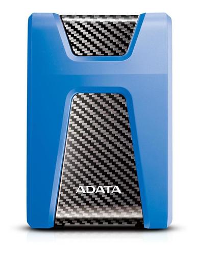 disco duro externo 1tb adata azul antigolpes