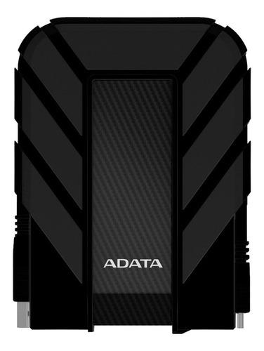 disco duro externo 2 tb antigolpe usb 3.0 negro - adata