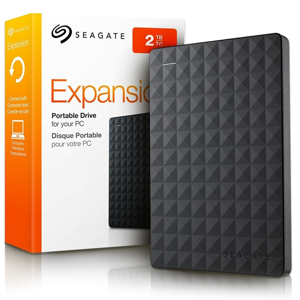 Disco duro externo 2tb seagate usb 3 0 expansion for Hdd esterno 4 tb
