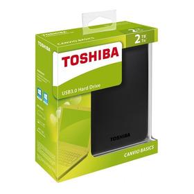 Disco Duro Externo 2tb Toshiba Canvio Basic Usb 3.0