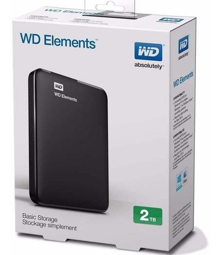 disco duro externo 2tb western digital elements 3.0 original