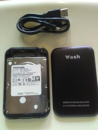disco duro externo  320 gb portatil