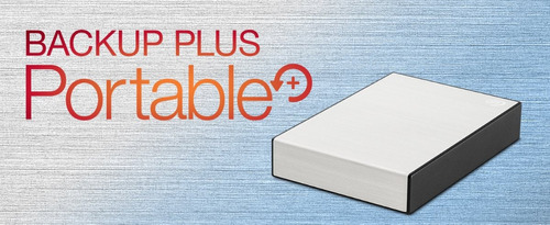 disco duro externo 4tb backup plus  seagate usb 3.0 plata