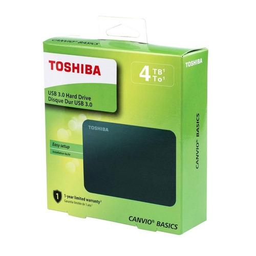 disco duro externo 4tb toshiba 3.0 canvio iva incluido