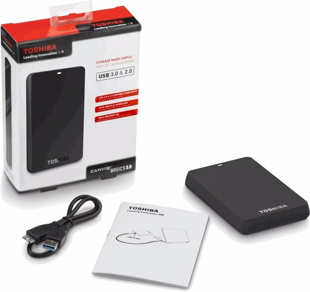disco duro 1 tera externo toshiba 1000gb usb dd en mercado libre. Black Bedroom Furniture Sets. Home Design Ideas