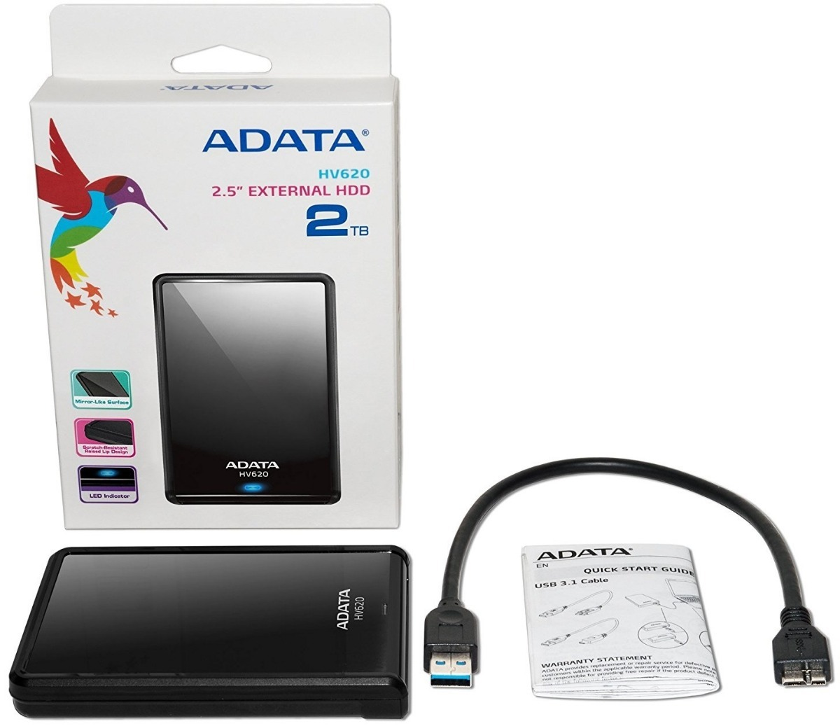e3d7c173d22fe disco duro externo adata 2tb hv620 usb 3.0 garantía 1 año. Cargando zoom.