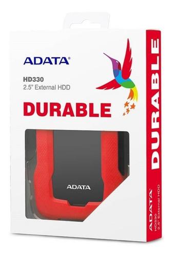 disco duro externo adata hd330 antigolpes 2tb 3.1 durable
