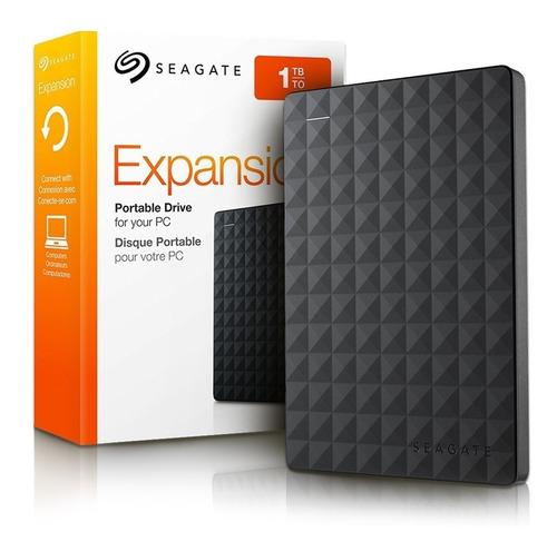 disco duro externo extraible 1tb usb 3.0 y 2.0 seagate nuevo