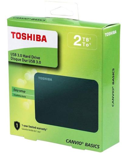 disco duro externo portable toshiba 2tb usb 3.0 2 tb tera ®