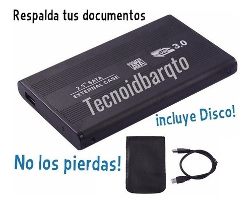 disco duro externo portátil 500gb 2.0