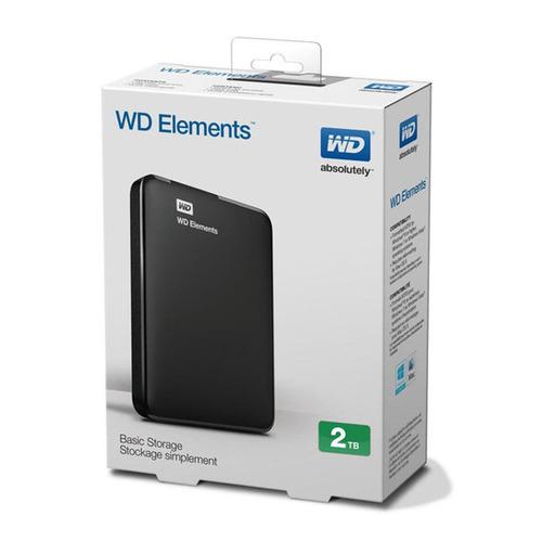 disco duro externo portatil western wd 2tb 2000gb usb 3.0