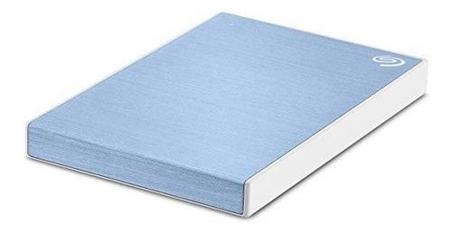 disco duro externo seagate backup plus slim 2tb usb azul