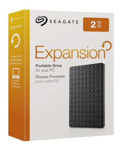 disco duro externo seagate expansion 2tb usb 3.0