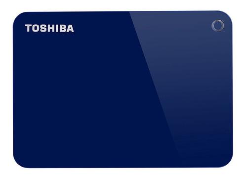disco duro externo toshiba 1tb canvio advance 3.0 - azul