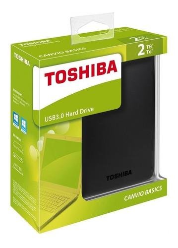disco duro externo toshiba 2tb canvio basics version 2018