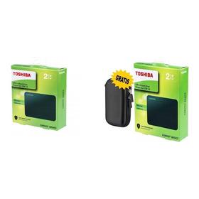 Disco Duro Externo Toshiba 2tb Protector Portátil Gratis