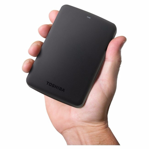 disco duro externo toshiba canvio basics, 2 tb, usb 3.0