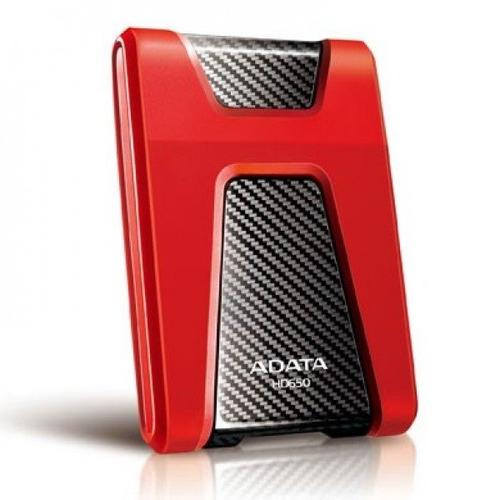 disco duro externo usb 3.0 1tb  antigolpes negro/rojo adata