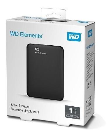 disco duro externo wd element 1tb