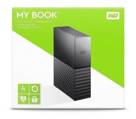 disco duro externo western digital 4tb my book usb 3.0