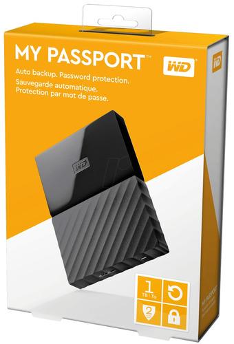 disco duro externo western digital my passport 2tb usb 3.0