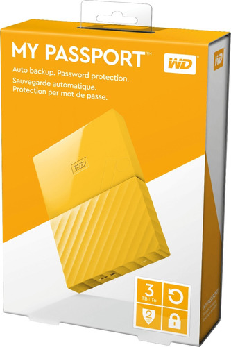 disco duro externo western digital my passport 3tb usb 3.0
