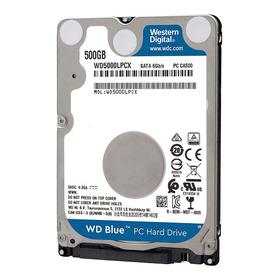 Disco Duro Hdd 2.5 7mm Wd Blue 500gb 5400rpm 16mb Sata 3.0