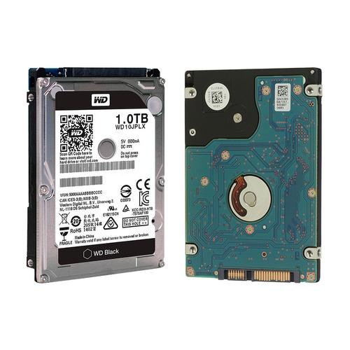 disco duro hdd 2.5'' 9.5mm wd black 1tb 32mb 7200rpm sata