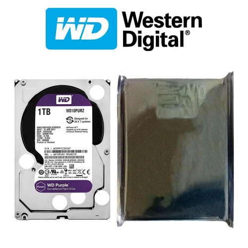 disco duro hdd 3.5'' 26.1mm wd purple 1tb 5400rpm sata 3.0