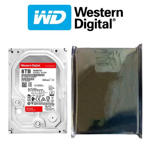 disco duro hdd 3.5'' 26.1mm wd red 8tb 5400rpm sata 3.0