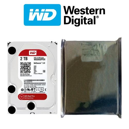 disco duro hdd 3.5'' 26.1mm wd red pro 2tb 7200rpm sata 3.0