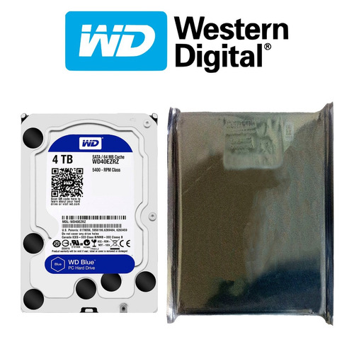 disco duro hdd 3.5'' wd blue 4tb 64mb 5400rpm sata 3.0