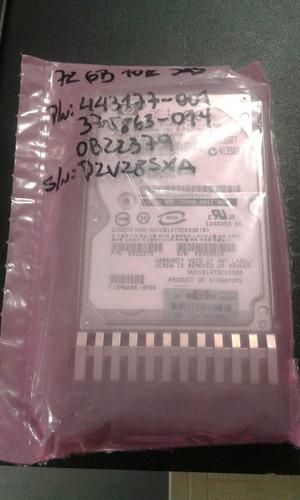 disco duro ho 443177-001 72gb 10k sas como nuevo impeque !!!
