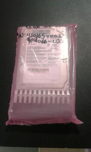 disco duro hp 430165-002 72gb 10k sas casi nuevo impeque !!!