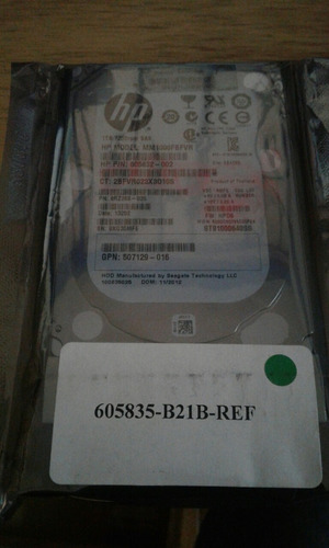 disco duro hp 605832-002 1tb 7200 rpm sas como nuevo impeque